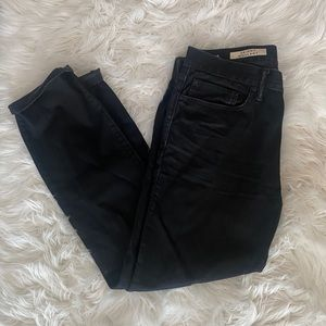 (3 for $20) black straight-leg jeans from GAP